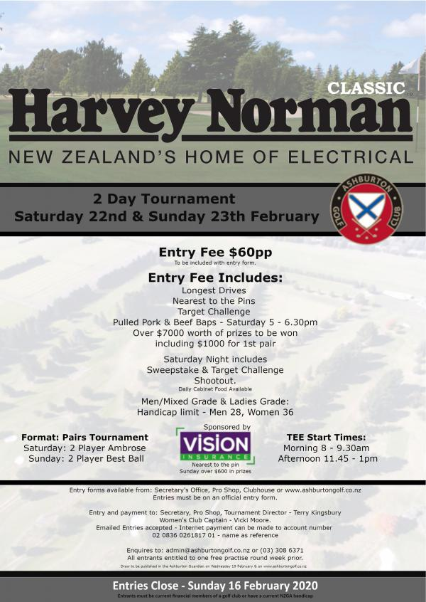 Harvey Norman Classic Flyer
