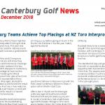 Canterbury Golf Newsletter December 2018 lefttile