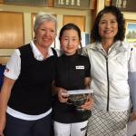 Womens Champion of Champions 2016 Gross Stableford Rosebowl Winners LR