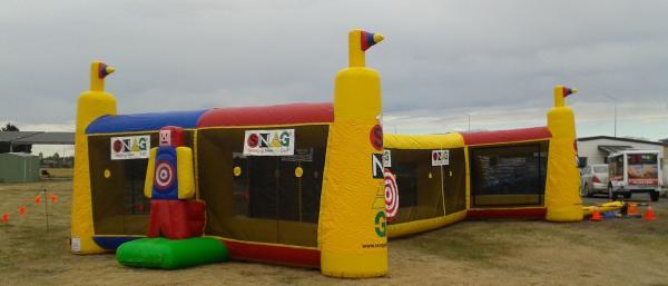 Snag Golf Inflatable Driving Range Canterbury Golf